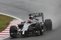 Jenson Button (GBR) McLaren MP4-29.<br /> Japanese Grand Prix, Sunday 5th October 2014. Suzuka, Japan.