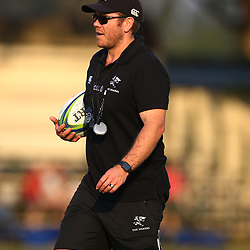 Jaco Pienaar (Assistant Coach) of the Cell C Sharks during the Cell C Sharks training, Jonsson Kings Park Stadium,Durban South Africa.27,06,2018 Photo by (Steve Haag REX Shutterstock )