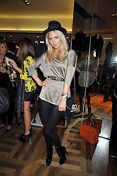 MARISSA MONTGOMERY at a party hosted by Petra Ecclestone at Matches, 87 Marylebone High Street, London on 7th September 2009.