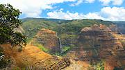 Waipoo Falls, Waimea Canyon, Kauai, Hawaii