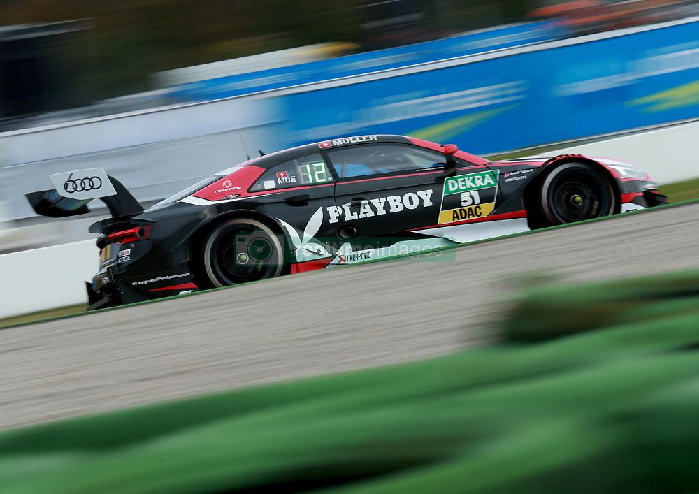 October 13, 2017 - Hockenheim, Germany - Motorsports: DTM Hockenheim-II 2017,.Playboy Audi Audi RS 5 DTM #51 (Audi Sport Team Abt), Nico Müller  (Credit Image: © Hoch Zwei via ZUMA Wire)