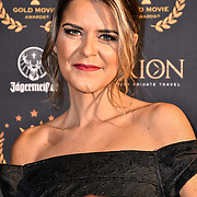 Gemma Oaten arrivers at Gold Movie Awards at Regents Street Theatre, on 9th January 2020, London, UK.