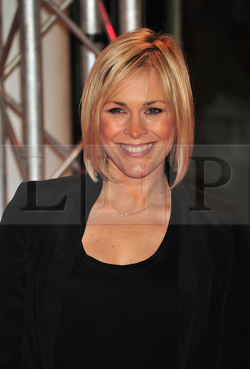 © Licensed to London News Pictures. 13/12/2011. London, England.Jenni Falconer  attends the UK premiere of Mission Impossible - Ghost Protocol at the IMAX in London .  Photo credit : ALAN ROXBOROUGH/LNP