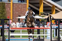 Thijssen Mel, NED, Gaudi<br /> Nederlands Kampioenschap Springen<br /> De Peelbergen - Kronenberg 2020<br /> © Hippo Foto - Dirk Caremans<br />  06/08/2020