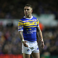 Richie Myler of Leeds Rhinos during the Betfred Super League match at Elland Road, Leeds<br /> Picture by Stephen Gaunt/Focus Images Ltd +447904 833202<br /> 08/02/2018