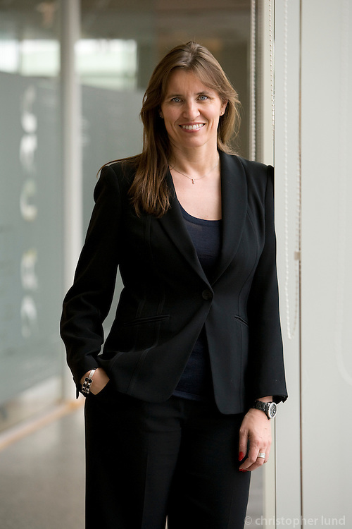 Rannveig Rist (47), CEO of Alcan, Iceland.