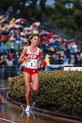 Mary Slaney, Prefontaine Classic track and field meet, Hayward Field, University of Oregon, Eugene, Oregon, USA