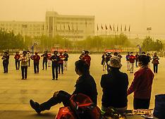 APR 24 2014 Sandstorm in Zhongwei City