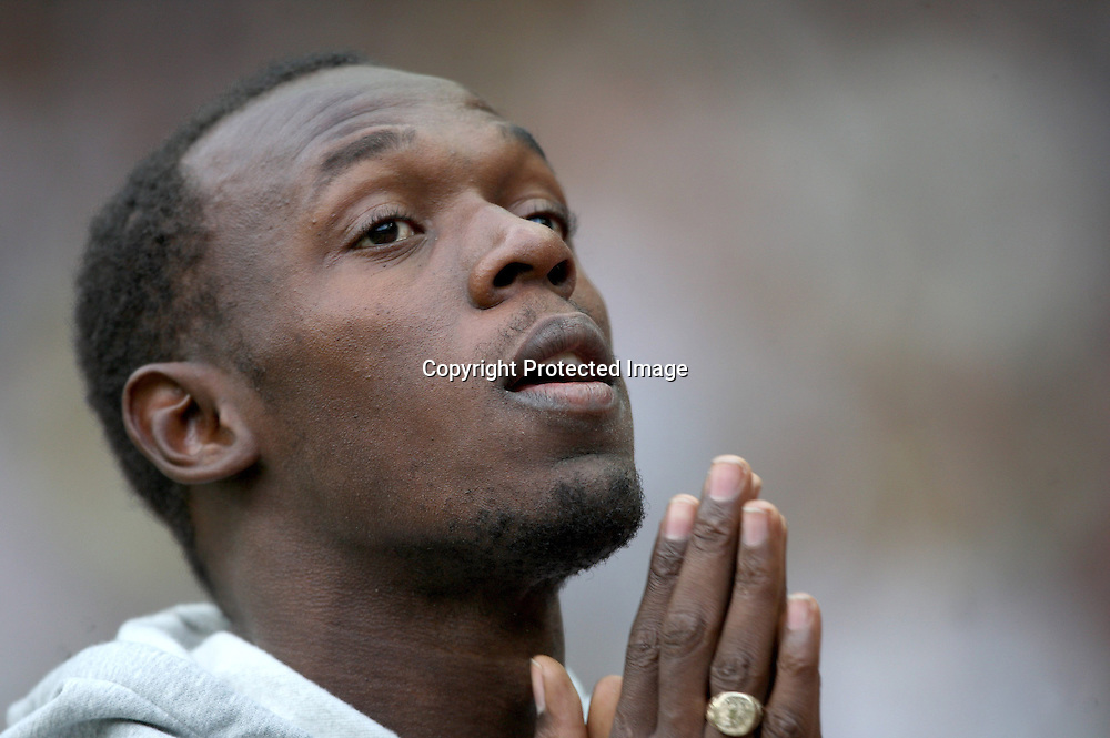 Jamaican sprinter, Usain Bolt at the IAAF Golden League Track and Field meeting on 17 July 2009 in Paris, France. Photo: Panoramic/PHOTOSPORT *** Local Caption ***