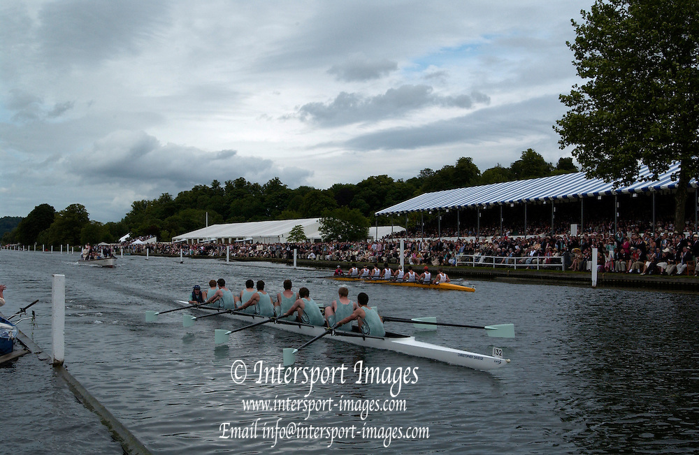 2005 Henley Royal Regatta, Henley on Thames, ENGLAND. 03.07.205  .Sunday Finals day -Eton College - winners 'Pricess Elizabeth Challenge Cup', . Peter Spurrier.   .email images@intersport-images.[Mandatory Credit Peter Spurrier/ Intersport Images] . HRR.