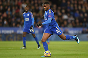 Leicester City forward Kelechi Iheanacho (8) during the Premier League match between Leicester City and Manchester City at the King Power Stadium, Leicester, England on 18 November 2017. Photo by Jon Hobley.