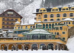 17.01.2013, Schladming, AUT, FIS Weltmeisterschaften Ski Alpin, Schladming 2013, Vorberichte, im Bild Hotel Pichlmayrgut (ÖSV-Teamhotel) am 17.01.2013 // Hotel Pichlmayrgut (ÖSV-Teamhotel) on 2013/01/17, preview to the FIS Alpine World Ski Championships 2013 at Schladming, Austria on 2013/01/17. EXPA Pictures © 2013, PhotoCredit: EXPA/ Martin Huber