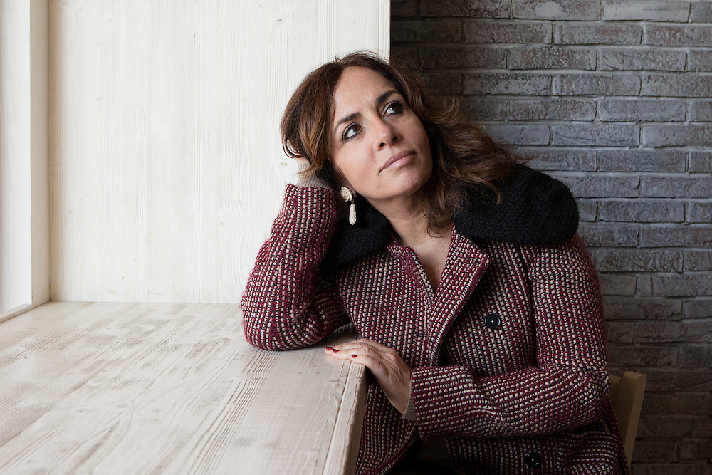 """Milano, Italy, January 11, 2015. Lorella Zanardo, documentary filmaker and authorwho has dedicated her life's work in defense of women's right and to express inequality through her film Il Corpo Delle Donne.<br /> In 2012, Ms Zanardo has been nominated among the """"150 Women Who Shake the World"""" by The Daily Beast."""
