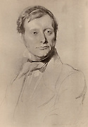 William Edward Forster (1818-1886) English Liberal politician: Elementary Education Act (1870) Chief secretary for Ireland (1880) Married the daughter of Dr Arnold of Rugby school. Brother-in-law of the poet Matthew Arnold.  Sketch of Forster in 1851.