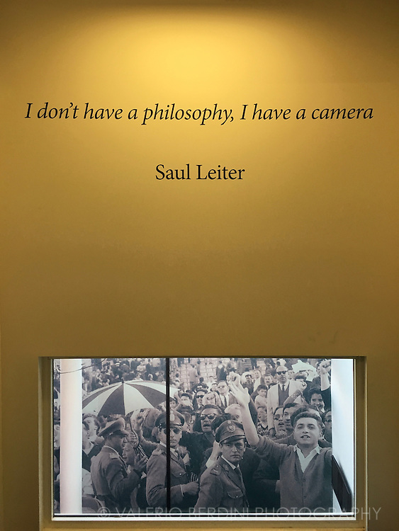 &quot;I don't have a philosophy, I have a camera&quot; <br />