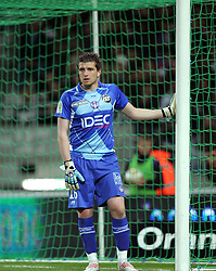 Toulouse goalkeeper Cedric Carrasso. Toulouse v Paris St Germain,French Ligue 1, Stade Municipal, Toulouse, France, 22nd March 2009.