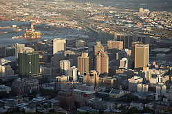 June 3, 2016 - Cape Town Central Business District skyline seen from Lions Head, Western Cape, South Africa (Credit Image: © AGF via ZUMA Press)