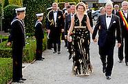 Koning Filip  en de Koningin Mathilde  deel aan de 10de gala-avond van de Steunraad West-Vlaanderen