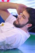 DESCRIZIONE : Treviso Lega due 2015-16  Universo Treviso De Longhi - Aurora Basket Jesi<br /> GIOCATORE : matteo fantinelli<br /> CATEGORIA : Before<br /> SQUADRA : Universo Treviso De Longhi - Aurora Basket Jesi<br /> EVENTO : Campionato Lega A 2015-2016 <br /> GARA : Universo Treviso De Longhi - Aurora Basket Jesi<br /> DATA : 31/10/2015<br /> SPORT : Pallacanestro <br /> AUTORE : Agenzia Ciamillo-Castoria/M.Gregolin<br /> Galleria : Lega Basket A 2015-2016  <br /> Fotonotizia :  Treviso Lega due 2015-16  Universo Treviso De Longhi - Aurora Basket Jesi