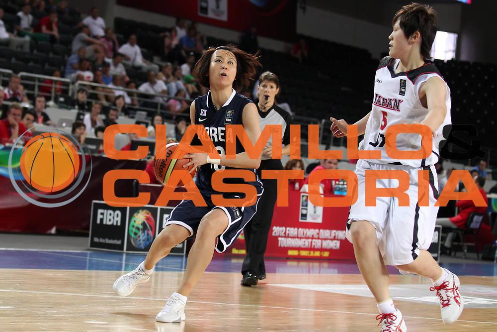 DESCRIZIONE : Ankara Turkey FIBA Olympic Qualifying Tournament for Women 2012 Japan Korea Giappone Korea<br /> GIOCATORE : Yeon Ha BEON <br /> SQUADRA : Korea Corea del Sud<br /> EVENTO :  FIBA Olympic Qualifying Tournament for Women 2012<br /> GARA : Japan Korea Giappone Korea<br /> DATA : 30/06/2012<br /> CATEGORIA : <br /> SPORT : Pallacanestro <br /> AUTORE : Agenzia Ciamillo-Castoria/ElioCastoria<br /> Galleria : FIBA Olympic Qualifying Tournament for Women 2012<br /> Fotonotizia : Ankara Turkey FIBA Olympic Qualifying Tournament for Women 2012 Japan Korea Giappone Korea<br /> Predefinita :