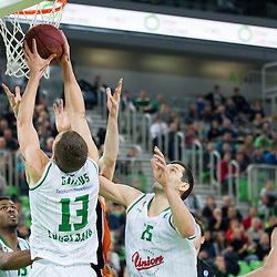 20131211: SLO, Basketball - EuroCup, KK Union Olimpija vs Ratiopharm Ulm