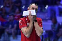 Serbia coach, Nikola Grbic.<br /> Torino 29-09-2018 Pala Alpitour <br /> FIVB Volleyball Men's World Championship <br /> Pallavolo Campionati del Mondo Uomini <br /> Semifinal<br /> Brasile - Serbia / Brazil - Serbia<br /> Foto Antonietta Baldassarre / Insidefoto