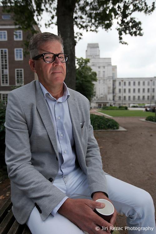 UK ENGLAND LONDON 21JUN16 - Gordon King, 57, economics lecturer at Birkbeck in Bloomsbury, London.<br /> <br /> jre/Photo by Jiri Rezac<br /> <br /> © Jiri Rezac 2016