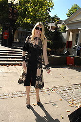 MEREDITH OSTROM at the memorial service of Isabella Blow held at the Guards Chapel, London W1 on 18th September 2007.<br /><br />NON EXCLUSIVE - WORLD RIGHTS