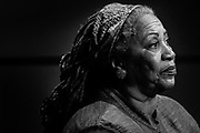 Professor at Princeton University and Nobel Prize Winner  in Literature, Toni Morrison.