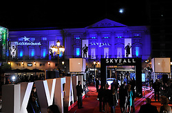 Premiere of Skyfall in Madrid. October 29, 2012. Photo by Rogelio Pinate /Sevenpixnews / i-Images...SPAIN OUT.UK ONLY