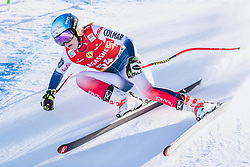 10.01.2020, Keelberloch Rennstrecke, Altenmark, AUT, FIS Weltcup Ski Alpin, Abfahrt, Damen, 2. Training, im Bild Camille Cerutti (FRA) // Camille Cerutti of France in action during her 2nd training run for the women's Downhill of FIS ski alpine world cup at the Keelberloch Rennstrecke in Altenmark, Austria on 2020/01/10. EXPA Pictures © 2020, PhotoCredit: EXPA/ Johann Groder