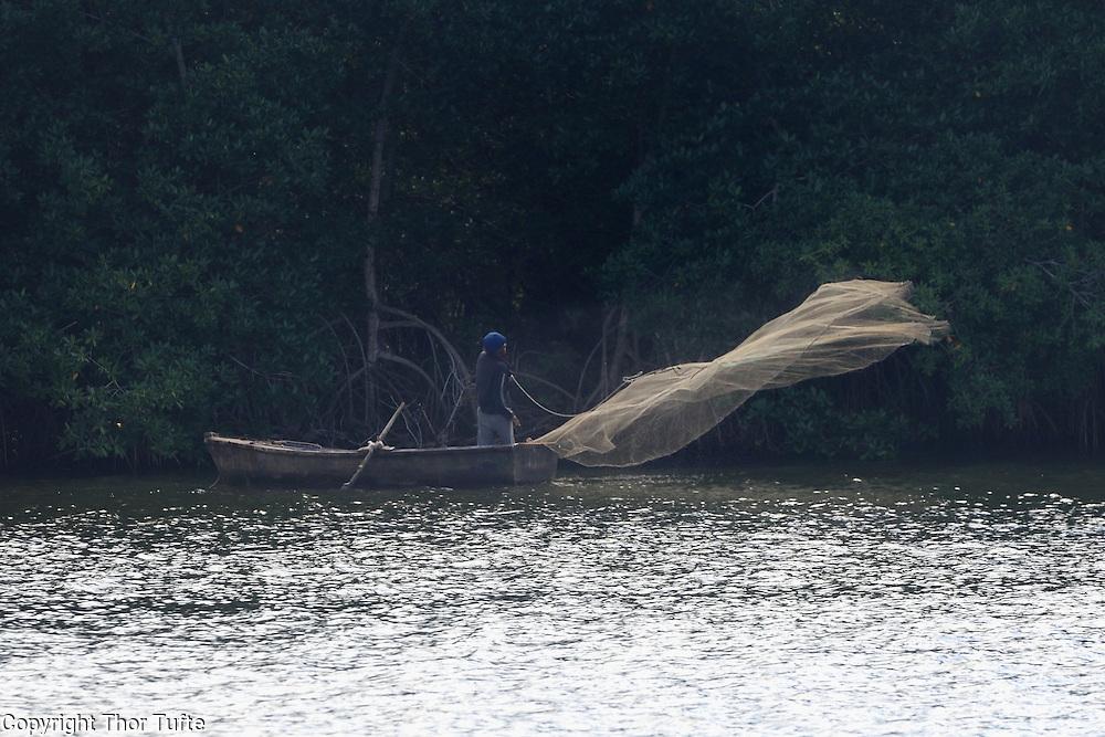 Fishing in Rio Soco.