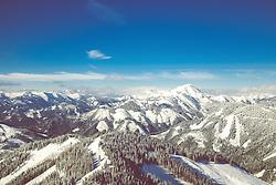 THEMENBILD - Skitourengehen in der Steiermark, Grabnerspitze, Aufgenommen am 11.02.2018 in Trofaiach, Österreich // Ski touring in the austrian alps. Trofaiach, Austria on 2018/02/11. EXPA Pictures © 2018, PhotoCredit: EXPA/ Dominik Angerer