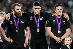 Rieko Ioane of New Zealand (All Blacks) during the Bronze Final match between New Zealand and Wales Mandatory by-line: Steve Haag Sports/JMPUK - 01/11/2019 - RUGBY - Tokyo Stadium - Tokyo, Japan - New Zealand v Wales - Bronze Final - Rugby World Cup Japan 2019