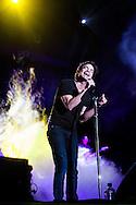 On Saturday August 10, 2013, Train played the Sleep Train Amphitheatre in Wheatland, California near Sacramento.