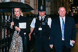 London, UK. 3rd December, 2018. Mike Ashley, the founder of Sports Direct and owner of Newcastle United Football Club, leaves after giving evidence to the House of Commons Communities Committee for its inquiry into the future of the high street. Senior executives from Marks and Spencer, Nando's and New Look also gave evidence.
