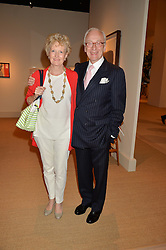 LORD & LADY CHADLINGTON at the private preview of Masterpiece 2015 held at the Royal Hospital Chelsea, London on 24th June 2015.