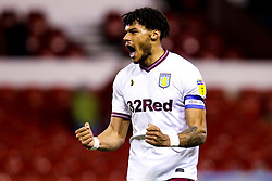 Tyrone Mings of Aston Villa celebrates victory over Nottingham Forest - Mandatory by-line: Robbie Stephenson/JMP - 13/03/2019 - FOOTBALL - The City Ground - Nottingham, England - Nottingham Forest v Aston Villa - Sky Bet Championship