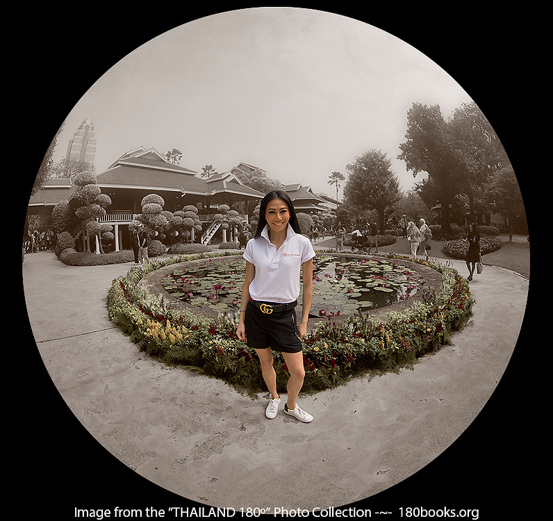 Khun Lek with Nai Lert Park Heritage Home