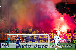 Viole, fans of Maribor during football match between NK Maribor and ND Gorica in 22nd Round of Prva liga Telekom Slovenije 2018/19, on March 09, 2019 in Ljudski Vrt, Maribor, Slovenia. Photo by Blaž Weindorfer / Sportida