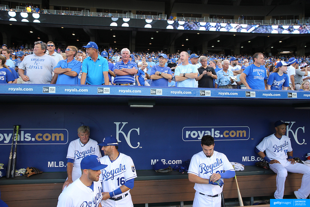 Kansas City Royals Vs Detroit Tigers Kauffman Stadium, Kansas, Missouri, USA. 9th August 2015. Photo Tim Clayton