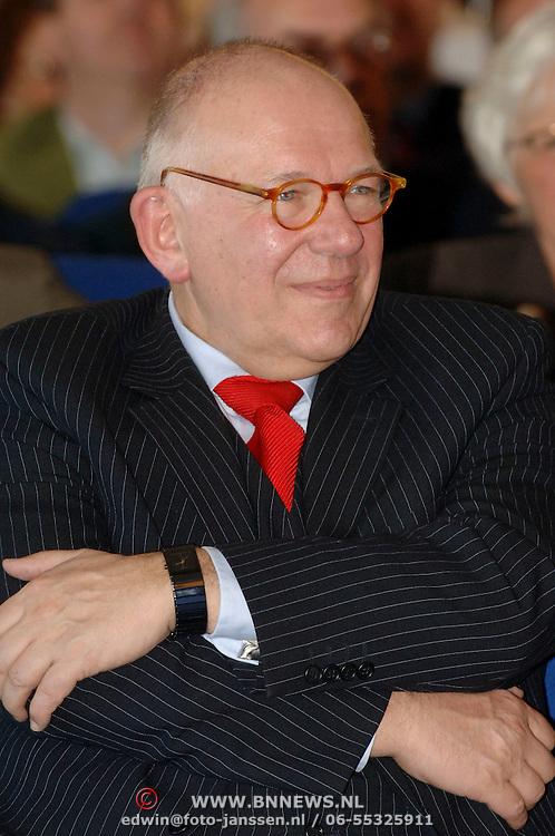 NLD/Huizen/20060323 - Afscheid burgemeester Jos Verdier als burgemeester van Huizen, wethouder Frans Kolk