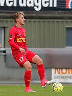 FODBOLD: Andreas Skovgaard (FC Nordsjælland) under træningskampen mellem FC Helsingør og FC Nordsjælland den 23. juni 2017 på Helsingør Stadion. Foto: Claus Birch
