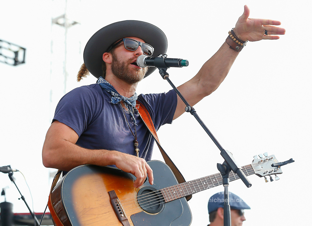 Drake White performs during day 2 of the Brickfest Music Festival at Indianapolis Motor Speedway on July 27, 2014 in Indianapolis, Indiana.