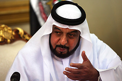 Sheikh Khalifa bin Zayed AL Nahyan , President of the UAE  Photo by: Stephen Lock/i-Images