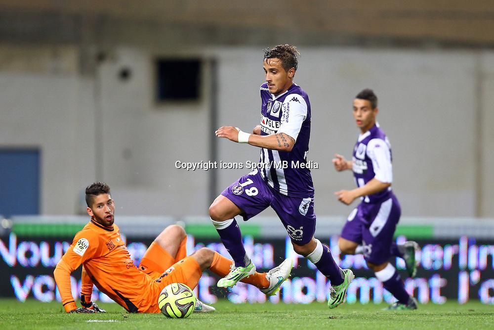 But Oscar Trejo - 23.05.2015 - Toulouse / Nice - 38e journee Ligue 1<br />Photo : Manuel Blondeau / Icon Sport