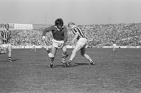 24031985NFLSF.National Football League - Semi-final.Armagh.1-9. .B. McAlinden, D. Stevenson, T. Cassidy, J. Murphy, B. Canavan, K. McNally, J. Donnelly, J. McCorry, F. McMahon, A. Short, C. Harney, K. McGurk, J. Corvan, D. Seely, J. Cunningham. Subs: J. Kernan for J. Cunningham, P. Rafferty for K. McGurk, J. McKerr for B. Canavan. . .Football.Down.0-6..