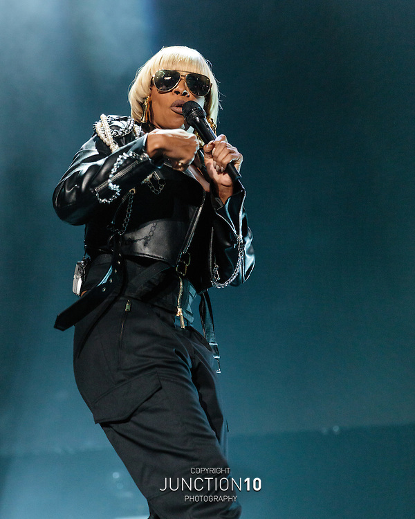 Mary J. Blige at the Genting Arena, Birmingham, United Kingdom<br /> Picture Date: 29 October, 2016