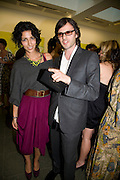 YASMIN SEWELL AND CARLO BRANDELLI, The London Magazine party to celebrate the New London Season and the TLM award for the Best-Dressed Man and Woman. Serpentine Gallery. 21 May 2008.  *** Local Caption *** -DO NOT ARCHIVE-© Copyright Photograph by Dafydd Jones. 248 Clapham Rd. London SW9 0PZ. Tel 0207 820 0771. www.dafjones.com.
