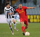 2012/12/06 Udinese vs Liverpool 0-1